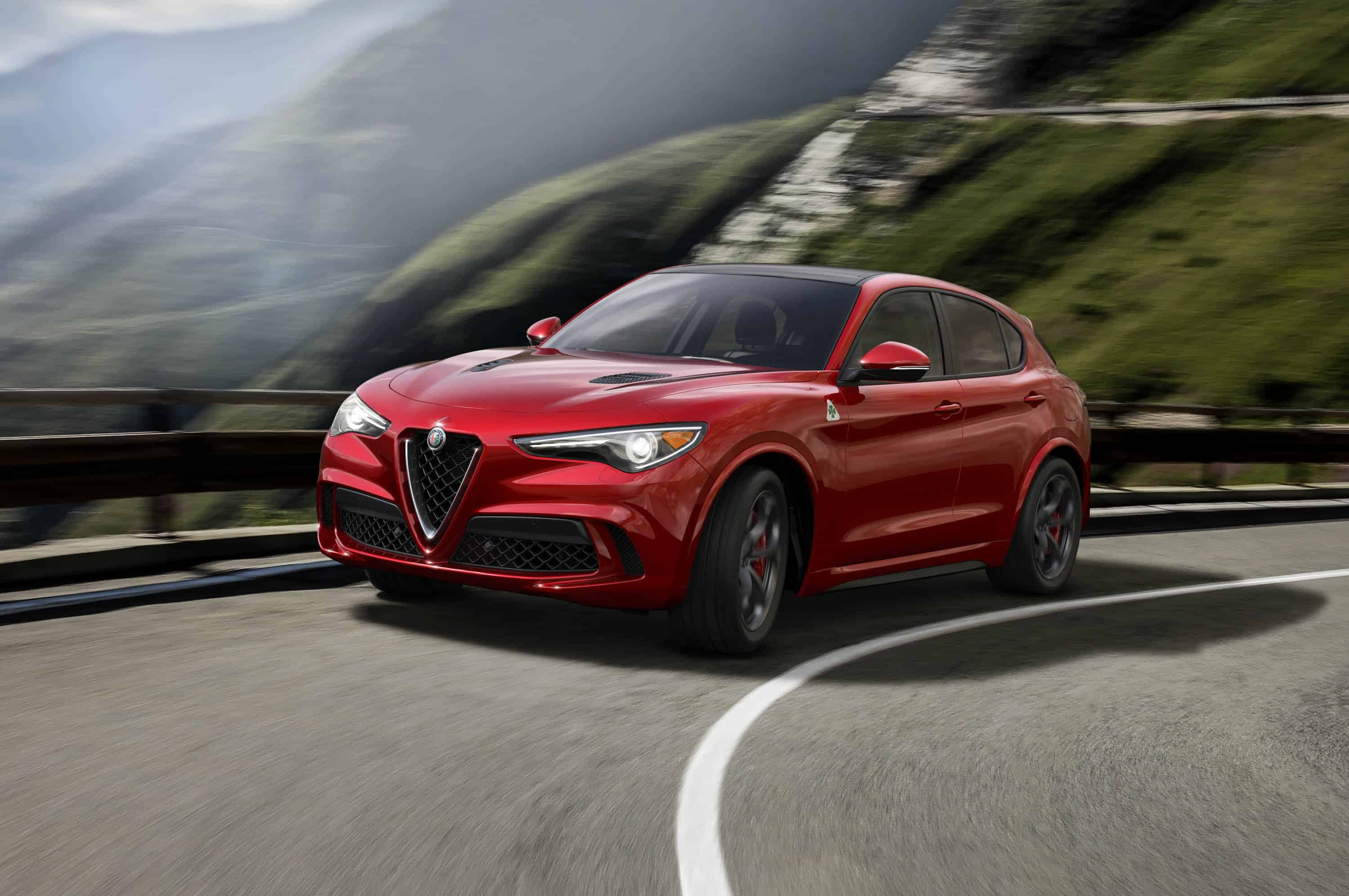 news alfa romeo stelvio quadrifoglio sport. Black Bedroom Furniture Sets. Home Design Ideas