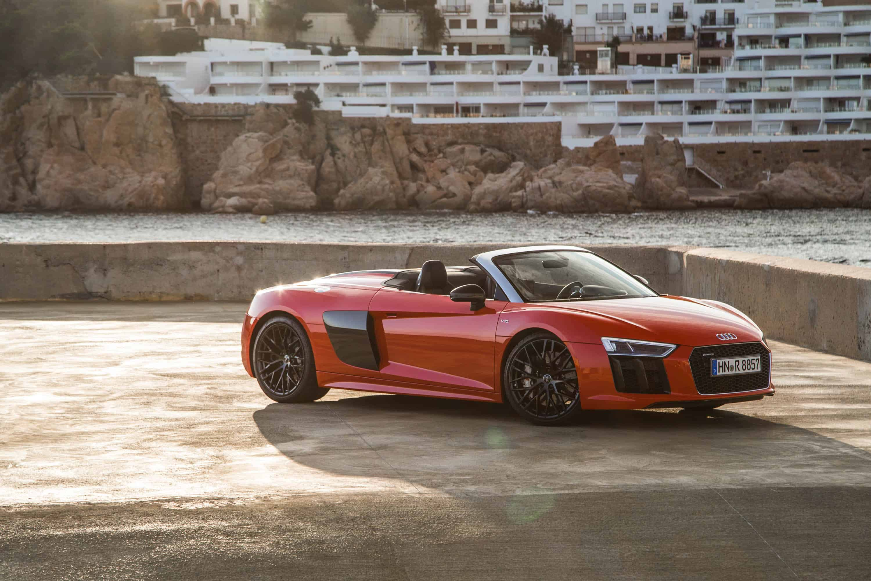 essai audi r8 spyder sport. Black Bedroom Furniture Sets. Home Design Ideas