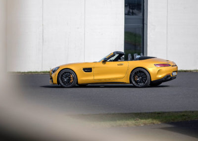 Press Test Drive AMG GT Family Bilster Berg, September 2017