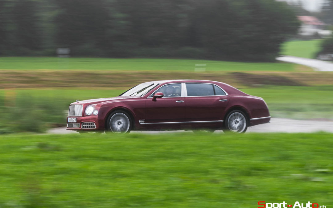 ESSAI BENTLEY MULSANNE EWB