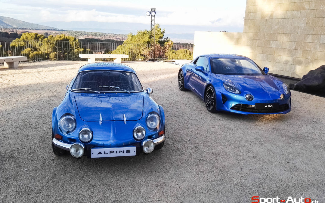 ESSAI ALPINE A110 – PRIME TIME !