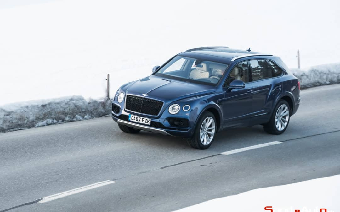 ESSAI BENTLEY BENTAYGA W12
