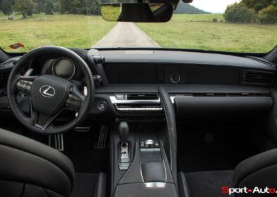Essai Lexus LC500 Sport+-36