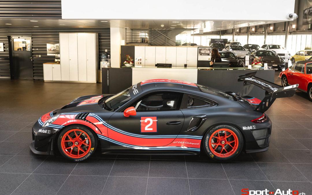 RENCONTRE AVEC LA PORSCHE 911 GT2 RS CLUBSPORT